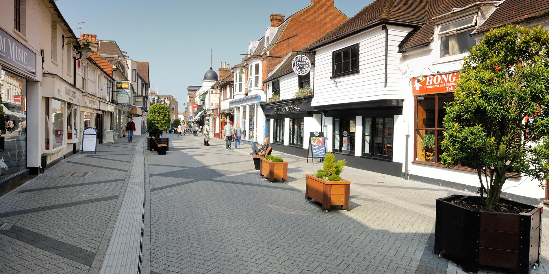 Town Centre Pedestrianisation